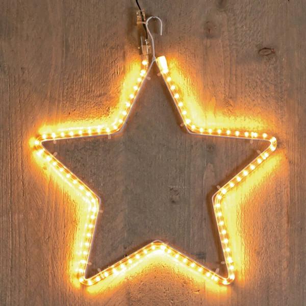 Weihnachtsstern Stern mit Lichtschlauch smd 30cm