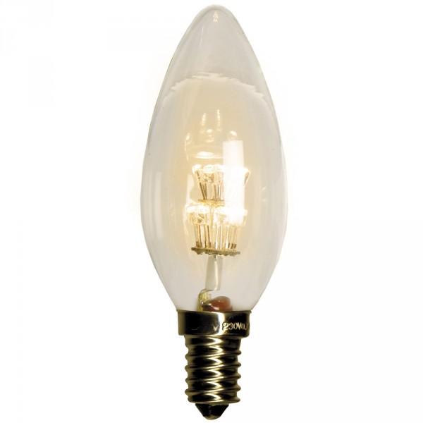 Kerzenlampe LED, E14, 230 Volt, 0.7 Watt, 1 Stück