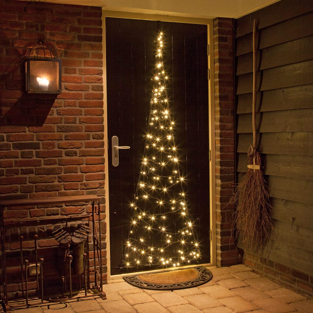 Fairybell weihnachtsbaum h210cm 60 led warmweiss f r - Fenster weihnachtsbeleuchtung ...