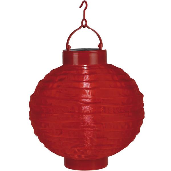Weihnachtsbeleuchtung Akku.Solarlampion Rot 1 Led Kaltweiss Solarpanel Akku Montagehaken