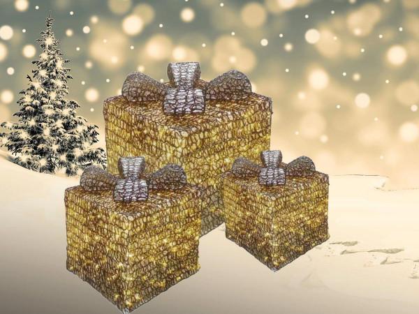 Geschenkpakete Trilogie 304 warmweisse LED Twinkle