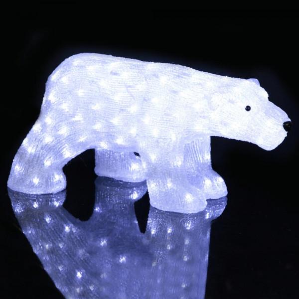 Dekorationsfigur Eisbär Jogi H30 B27 L65 130 LED Outdoor