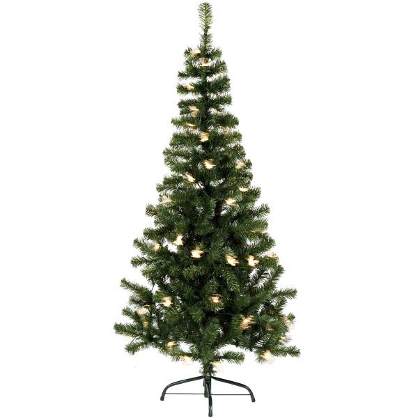 Weihnachtsbaum Alaska Fiberoptik, H150, Ø80cm, 70 LED AUSSTELLUNGSMODELL
