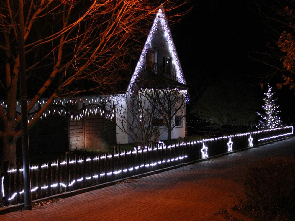 System LED Profi kaltweiss, Kabel schwarz