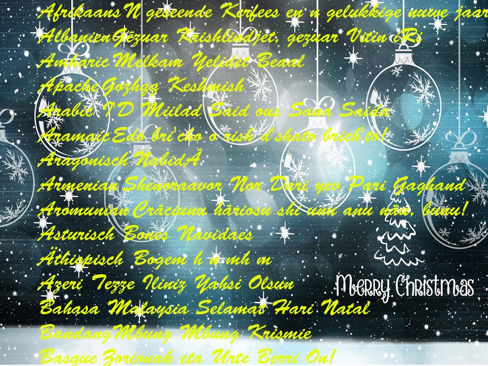 Frohe Weihnachten Georgisch.Thema Zur Adventszeit Weihnachtsgrüsse In Vielen Sprachen Blog