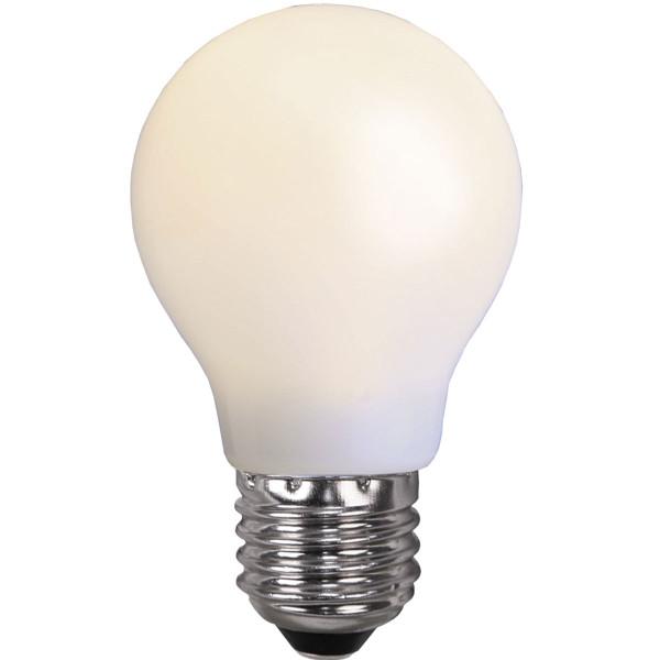 Birne LED opal, Globeform, Fassung E27, 230 Volt, 0,7 Watt