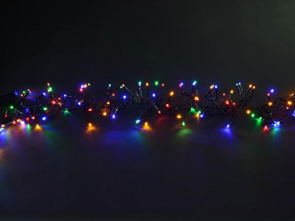 Clusterlichterkette 1152 LED, bunt, 690cm, nicht ausbaubar