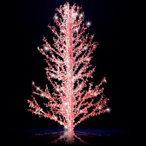 Leuchtbaum Sasha 300 RGB, H300, B190, L190cm, RGB-Farben statisch, 5 Äste, ohne Stange