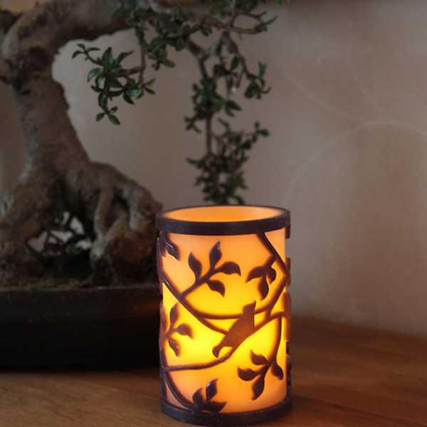 Künstliche flammenlose Kerzen