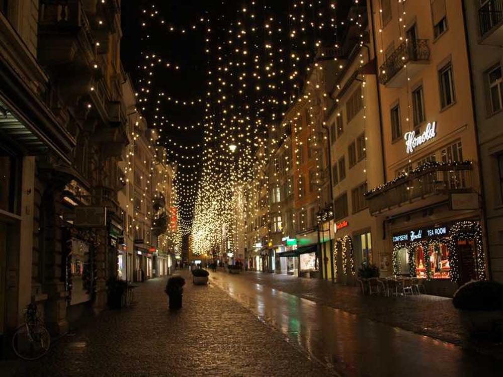 Weihnachtsdeko Straßenbeleuchtung.Thema Zur Adventszeit Dekorations Ideen Blog Apesa