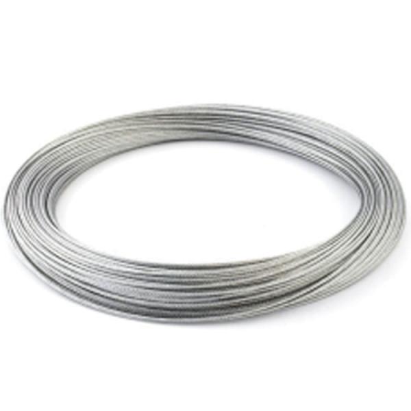 Stahlseil DM 4 mm Länge 100m