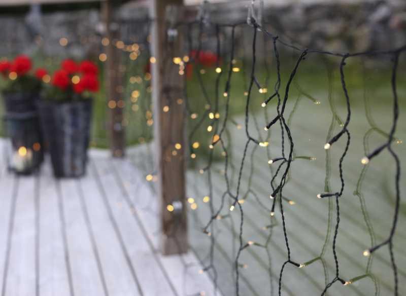 Perfekt Weihnachtsbeleuchtung für Innenbereiche oder Balkone