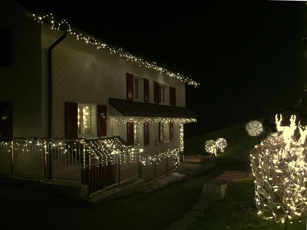 Led System Weihnachtsbeleuchtung.System Led Profi Warmweiss Kabel Schwarz Apesa