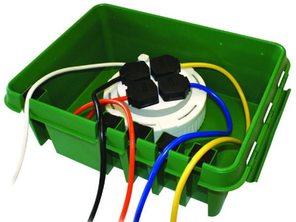 Dribox Trockenbox, professionelle Kabelverstauung für Weihnachtslichter