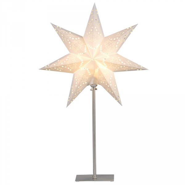 Sensy Stern zum Stellen mit Ständer, 55 cm, 230 Volt, E14