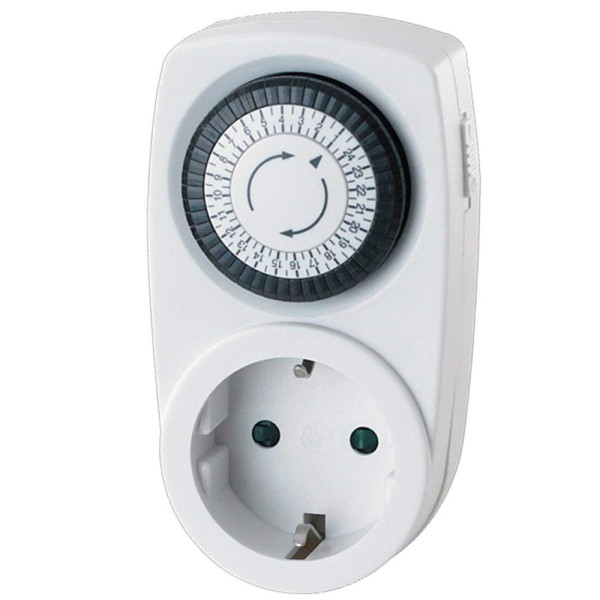 Zeitschaltuhr Schuko-Stecker für Indoor und Outdoor