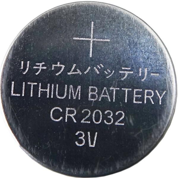 Knopfbatterien 6 Stück, CR2032, 3 Volt