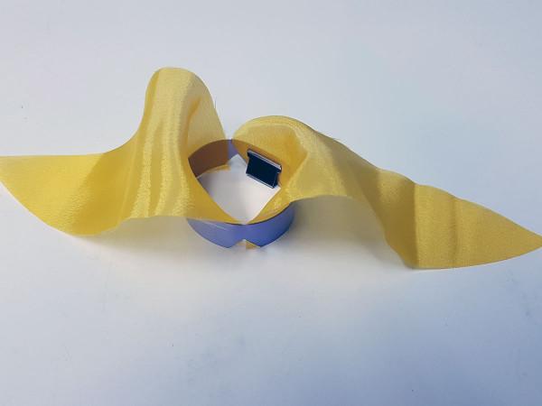 Textilflamme gelb, passt für alle Feuerlichter