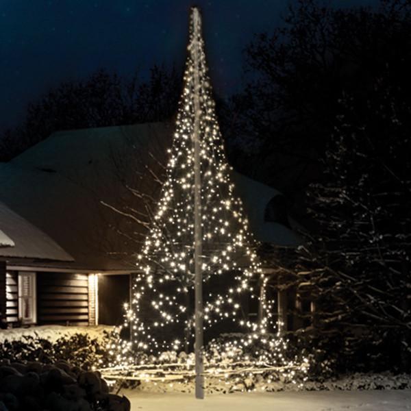 Fairybell Weihnachtsbaum H600cm, 1200 LED, für Fahnenstange, Mast optional