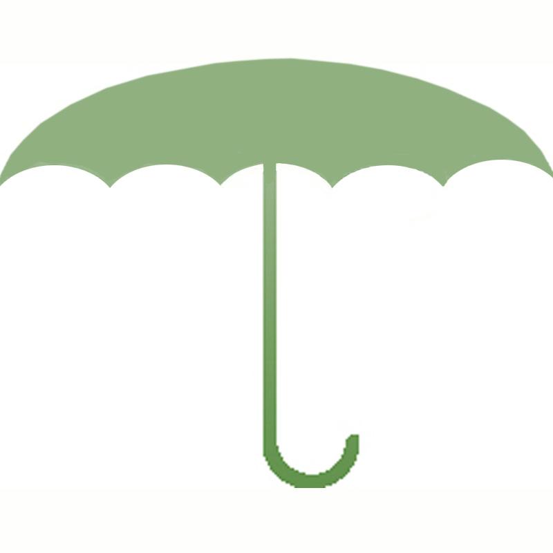 Zweige entfalten sich wie ein Regenschirm