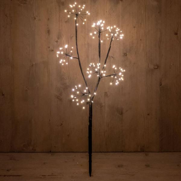Lichterzweig Leuchtzweig als Weihnachtsbeleuchtung H60cm