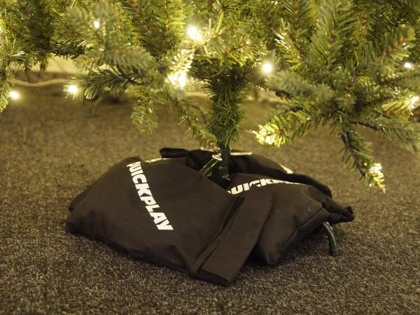 Beschwerungs-Säcke 4 Stück für Fuss von Ständer für Weihnachtsbäume