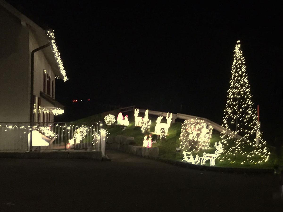 Lichterhaus mit LED Profi kombiniert mit Fairybell