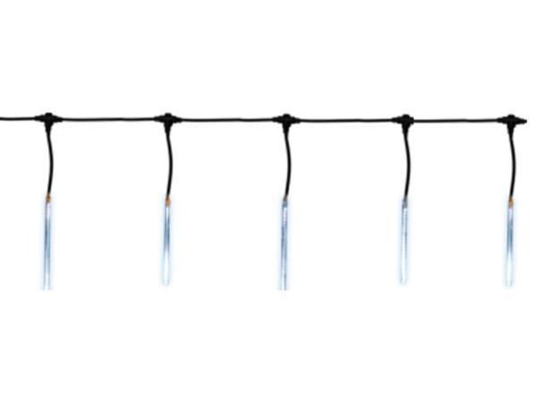 2 Set Snow-Motion, 80 LED imitiert fallenden Schnee, nicht ausbaubar 1 x neu, 1 x Ausstellung