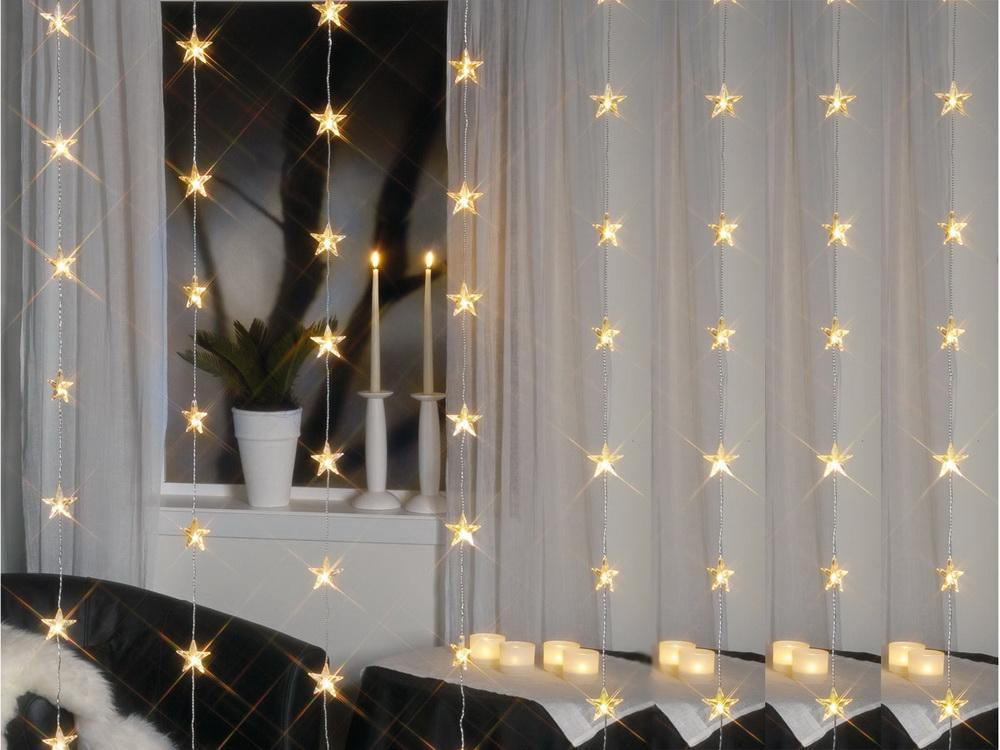 Lichterketten System Decor LED modular ausbaubar mit Sternenlichterketten