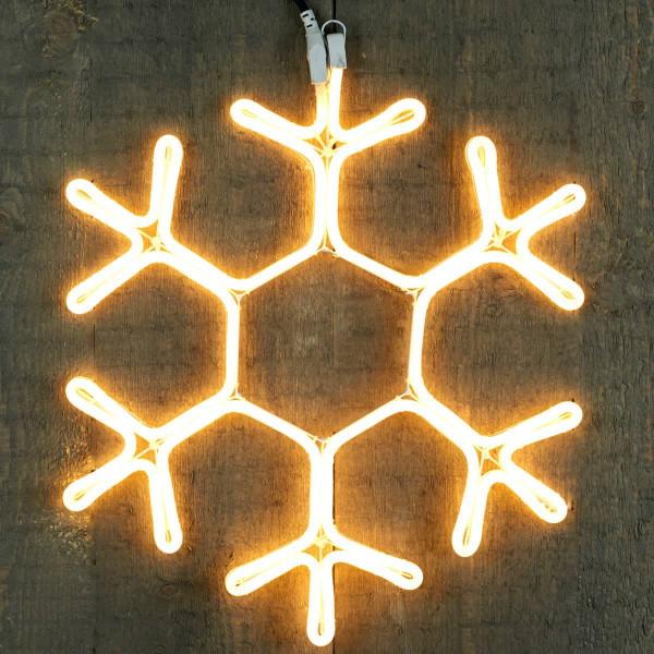 Weihnachtsschneeflocke Schneeflocke Neonflex 51cm