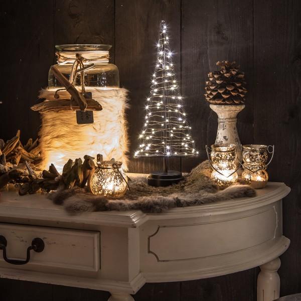 Santa´s Tree L Weihnachtsbaum H42 cm 85 LED Batteriebetrieb