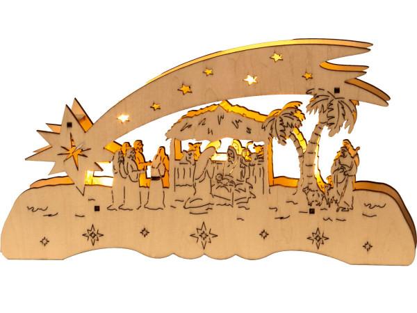 Led Weihnachtsbeleuchtung Komet.Fensterleuchter Deutsche Weihnacht Fallender Komet Batteriebet