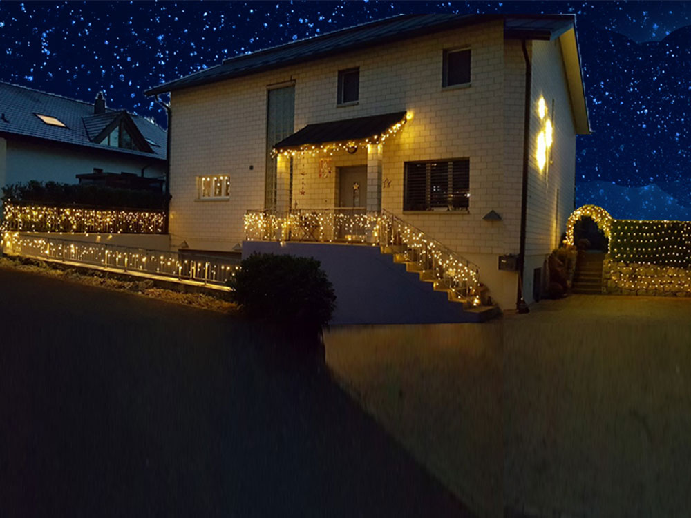 System 24 LED Outdoor Weihnachtsbeleuchtung ausbaubar