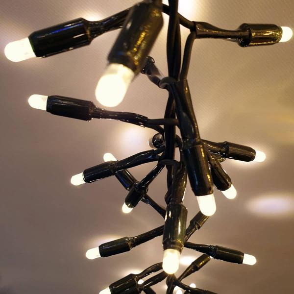 System Profi XP Clusterlichterkette LED 180 warmweiss, 300cm, ausbaubar bis 3000 cm