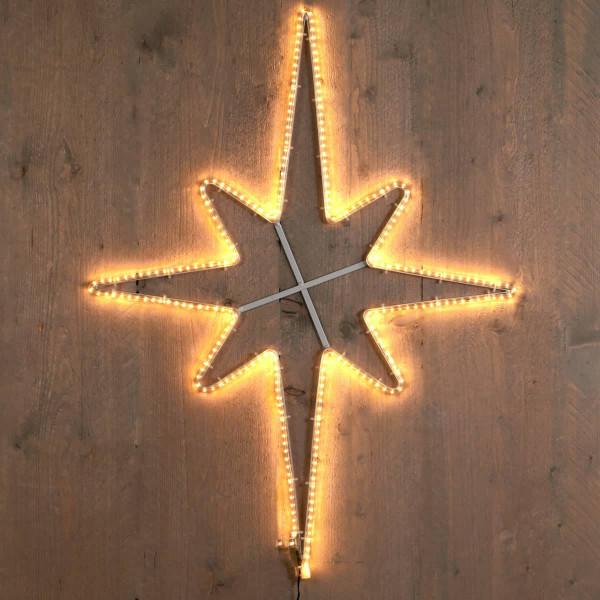 Weihnachtsstern Leuchtstern als Polarstern LED smd 60x80cm