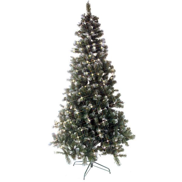 Weihnachtsbaum Edmonton H225, Ø130cm, 300 warmweisse LED