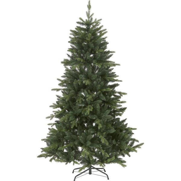 Weihnachtsbaum künstlich Bergen H180cm B115cm 0led grün