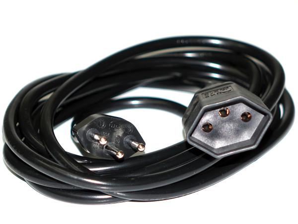 Verlängerungskabel 300 cm, schwarz, TD, 3x1mm
