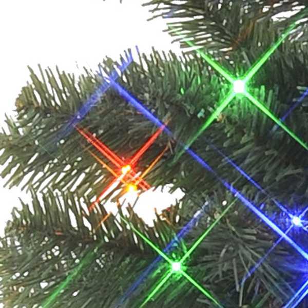 Bunte LED Birne als Leuchtkörper