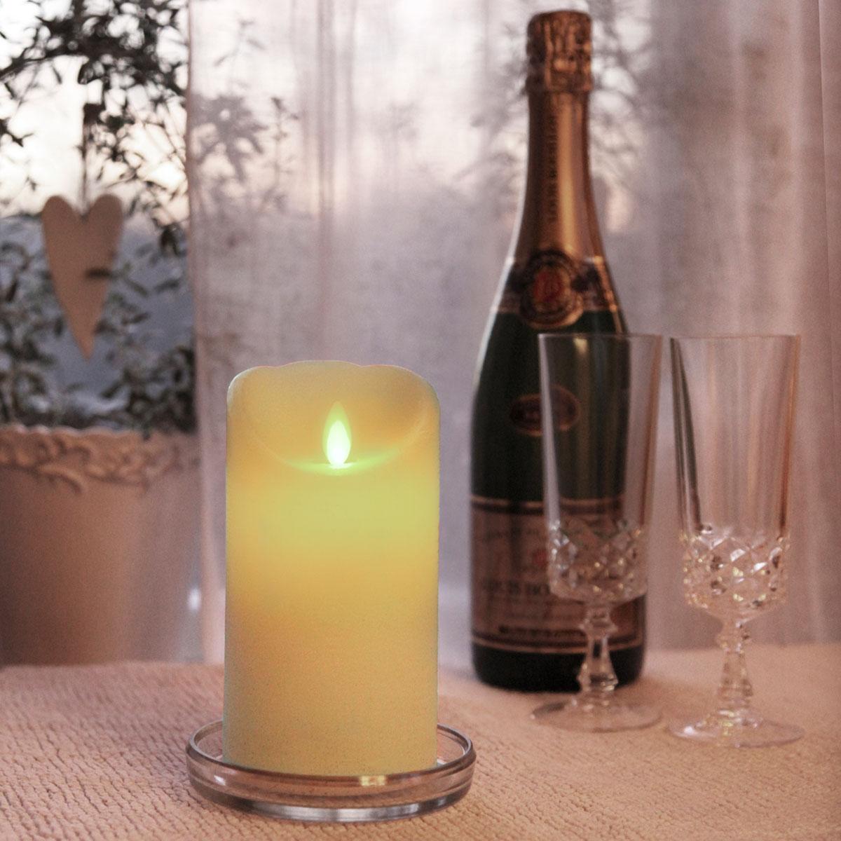 Twinkle-Star Kerze mit der sicheren Flamme