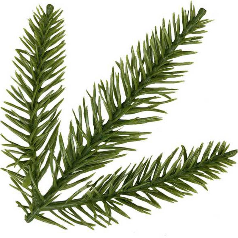 Weihnachtsbaum mit Spritzguss das 1A Blatt