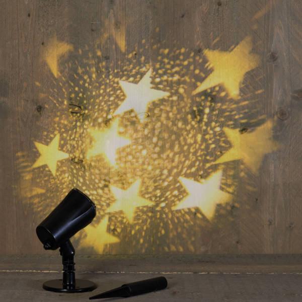 Weihnachtsbeleuchtung Projektor outdoor Sterne gross