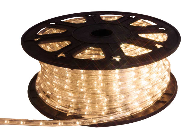 LED-Ropelight, Rolle 45 m, 1620 LED warmweiss
