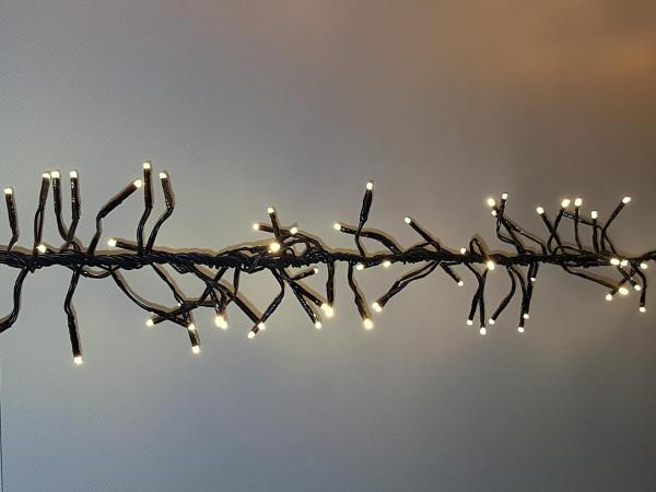 Clusterlichterkette Classic 768 LED warmweiss, 600cm