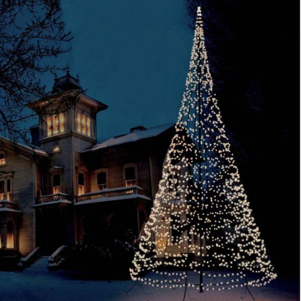 Fairybell Weihnachtsbaum H1000cm, 2000 LED, für Fahnenstange