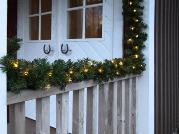 Türrahmen-Girlande 500 cm, 72 LED warmweiss, Outdoor