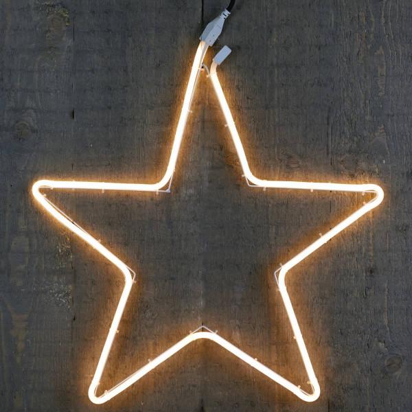 Weihnachtsstern Ø 54cm flacher Neonflex-Lichtschlauch