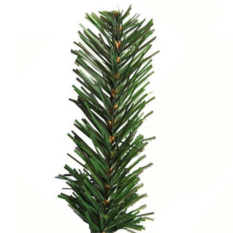 Der künstliche Tannenbaum mit geradem Blattende