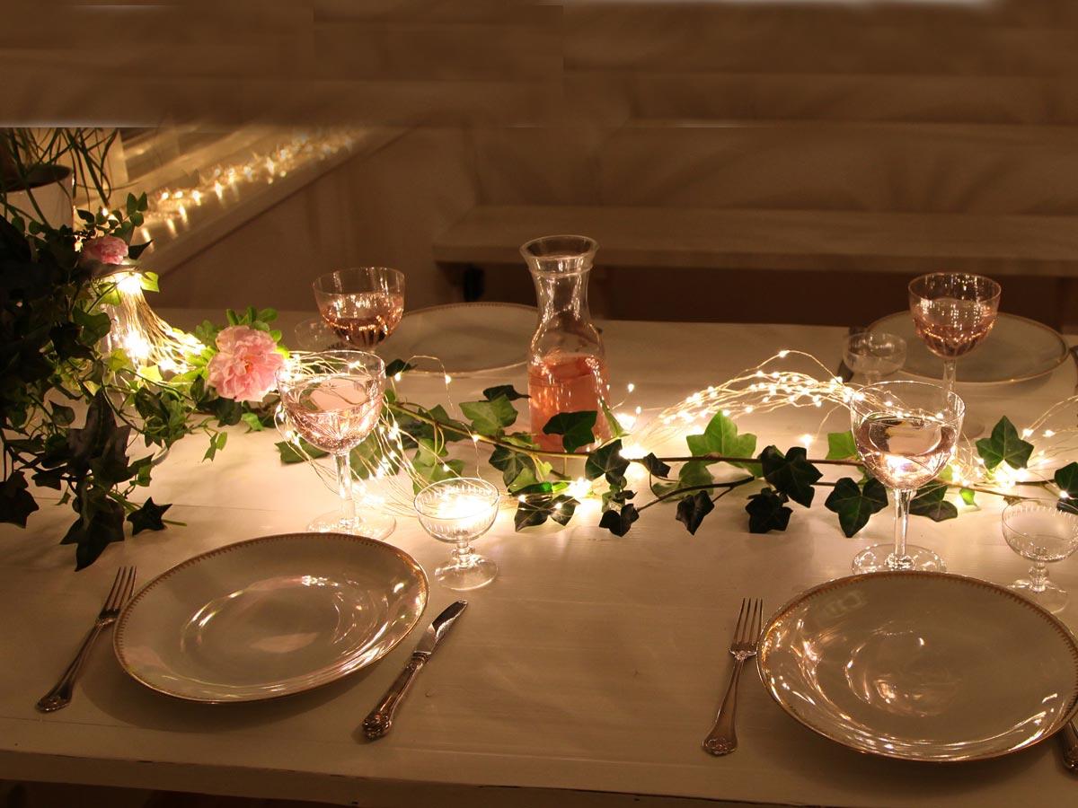 Dekorideen für den schönen Tisch