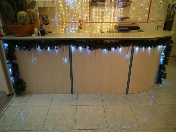 Snow Motion Eiszapfenlichterkette 40 kaltweiss LED Zapfen 130 LED